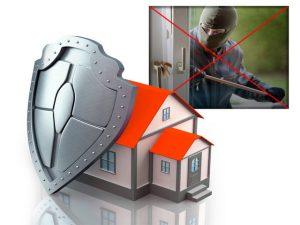 дом с защитой от вора