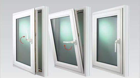 окно поворотно-откидное