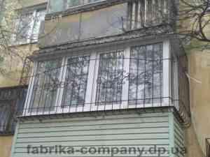 Решетка на балкон пр.Гагарина
