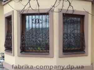 Решетки в дом ул.Моховая